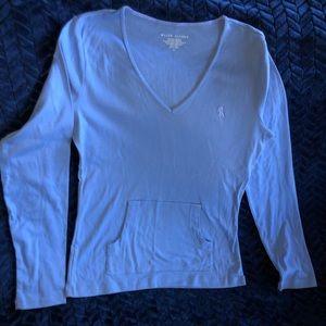 Ralph Lauren longsleeve T, front pocket, worn once